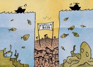 The Gaza Freedom Flotilla builds on decades of Palestine solidarity struggle. CREDIT: Nidal El-Khairy