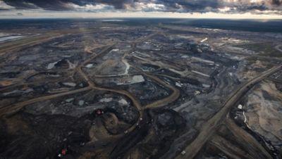 Tar sands mining operation, photo courtesy Tar Sands Action