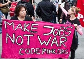 (Photo courtesy of Code Pink)