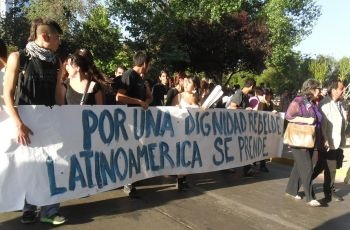 Chile's student protests are catching on throughout the region. Photo: Pamela Sepulveda/IPS