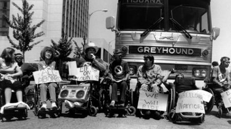 disability rights movement blocks traffic.jpg