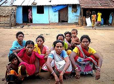rayagadas tribal women look after commty grain banks.jpg