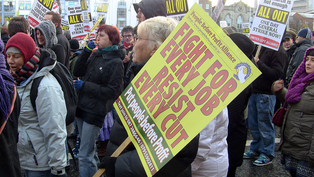 protesters in dublin protest cuts call generalstrike.jpg