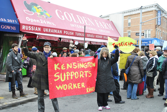 kensington supports workers bay ridge.jpg