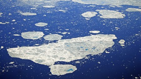 melting sea ice off the coast of greenland.jpg