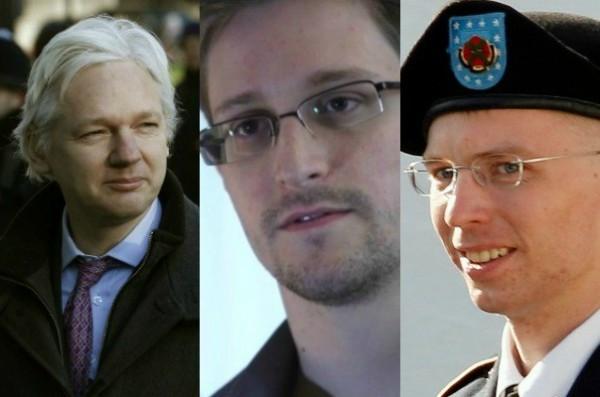Resultado de imagen para assange y chelsea manning