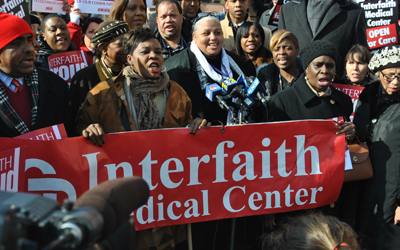 hospitals_Interfaith protest web.JPG
