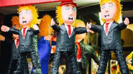 Donald Trump pinatas in a storefront window in San Francisco_WEB_Credit Thomas Hawk.jpg